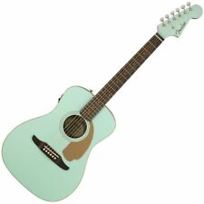 Fender Malibu Player Acoustic - Aqua Splash