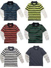 Oshkosh Bgosh Boys Long Sleeve Polo Shirt ~ Pick Your...