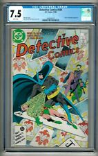 "Detective Comics #569 (1986) CGC 7.5  White Pages  Barr - Davis - Neary  ""Joker"""