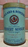 CALLARD & BOWSER'S DESSERT NOUGAT Old Container Tin London Unopened Candy Desert