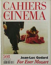 CAHIERS DU CINÉMA N° 508/FOR EVER MOZART/JEAN LUC GODARD/DE PALMA/BREILLAT