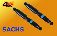 SACHS 2x REAR Shock Absorbers CITROEN JUMPER 2006- DUCATO BOXER OE QUALITY