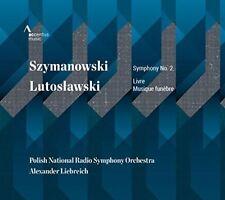 SZYMANOWSKI: SYMPHONY NO. 2; LUTOSLAWSKI: LIVRE NEW CD
