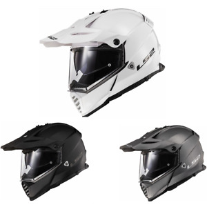 2021 LS2 Blaze Solid Adventure Touring Motorcycle Helmet - Pick Size & Color