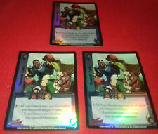UFS Foil Cards x3 - Street Fighter - Smack Talk
