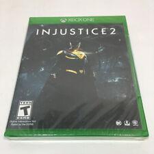 Injustice 2 (Microsoft Xbox One, 2017) BRAND NEW SEALED