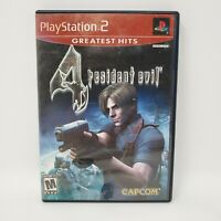 Resident Evil 4 (PlayStation 2, 2005) Greatest Hits No Manual Tested and Works