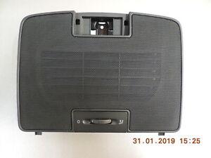 Original VW Golf 5 1K Jetta Variant Abdeckung Luftdüse mitte vorn Blende schwarz