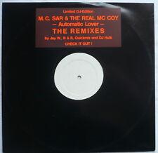 "M.C. SAR + THE REAL McCOY-Automatic lover (The remixé) - 12""-maxi > Ltd. DJ"