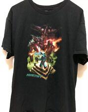 Mindcraft Enter Dragon Men's size large T-Shirt