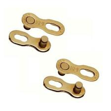 KMC Chain missing link 9 speed two sets gold cycle connectors
