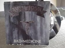 45B BON JOVI PICTURE SLEEVE BAD MEDICINE / 99 IN THE SHADE ON MERCURY RECORDS