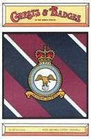 Postcard RAF Royal Air Force Station CRANWELL Crest Badge No.126 NEW