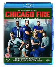 Chicago Fire Complete Series 4 Blu Ray All Episodes Fourth Season Original UK R2