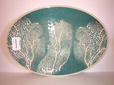 """Tommy Bahama CORAL REEF MELAMINE PLATTER TRAY.    14"""" tall by 20"""" wide  GORGEOUS"""