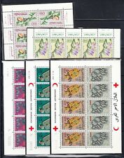 Morocco - small group of 5 different mini-sheets. Mint NH
