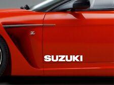 Door Sticker Fits Suzuki Swift Vitara Side Vinyl Decals Premium Qaulity RT98