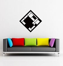 Wall Stickers Vinyl Decal Modern Abstract Geometrical Shape z1249