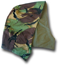 1968 PATTERN DPM CAMOUFLAGE COMBAT HOOD, COTTON LINED, BUTTON-ON [18011] size 1