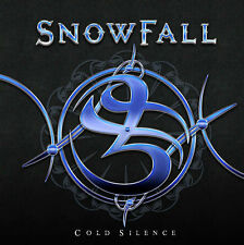 Snowfall - Cold Silence CD 2013 Norwegian Hard Rock With Lee Small (Shy) Vocals