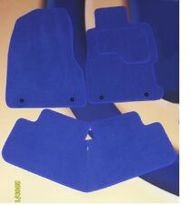 SEAT LEON 2005 - 2009 & FR / CUPRA BRIGHT BLUE QUALITY CARPET MATS + 4 X CLIPS B