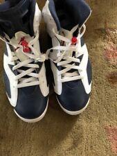 Air Jordan 6 Olympic Size 11 Mens Retro VI 2012 Mightnight Navy Blue Red