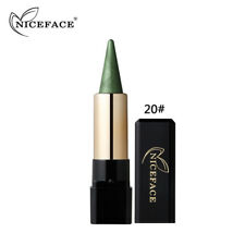 AU Waterproof Glitter Eyeshadow Pen Metallic Eye Brighten Contour Shadow Stick 20#