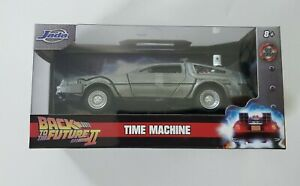 Back to the Future 2 ~ Time Machine ~ Metals Die Cast Car ~ 1:32