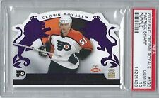 "2002-03 CROWN ROYALE ""PURPLE"" PATRICK SHARP ROOKIE #D/799 PSA 10 GEM MINT POP. 1"