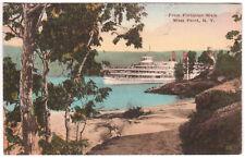 AK US USA Post Card From Flirtation Walk WEST POINT gelaufen 1929 n. Gablonz