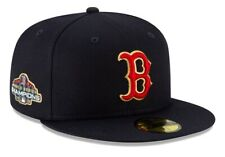 BOSTON RED SOX NEW ERA NAVY GOLD STITCHING PROGRAM SPECIAL EDITION FITTED HAT