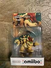 Nintendo Bowser amiibo Super Smash Bros. *FIRST PRINT* NEW never been open