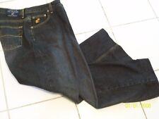 CARIBBEAN JOE - WOMEN'S BLACK DENIM JEANS BOOT LEG - SIZE 16 EUC