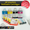 HP 934 / 935 Refillable Ink Cartridges with 400ml Ink Officejet Pro 6230 & 6830