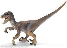 Schleich 14524 Velociraptor Brown Toy Dinosaur Hand Painted Figurine - BRAND NEW