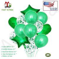 14pcs/set Wedding Birthday Latex Foil Balloons Kids Boy Girl Baby Party Décor.