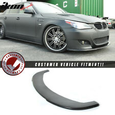 Fits 04-10 BMW E60 5 Series M5 Under Front Bumper Lip Spoiler Splitter  (PU)