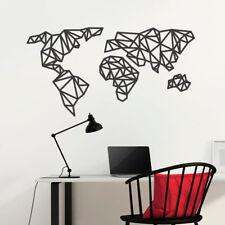 """Wandtattoo """"Origami Weltkarte"""" Wandsticker, Wandaufkleber, Wanddeko Aufkleber"""