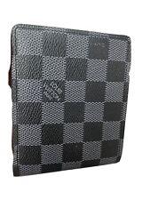 Authentic louis vuitton Damier Graphite wallet card organizer - Preowned