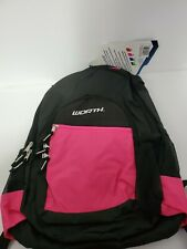 Worth Pink And Black Bat Backpack