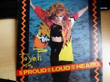 """Toyah - Be Loud, Be Proud (Be Heard) 7"""" Vinyl Record"""