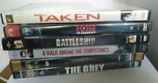 Liam Neeson DVDs Lot of 6-The Grey, The Haunting, Taken, Battleship, K19 & more