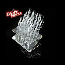 32 Consejos Pop Sticks Nail Art Display Soporte Práctica Gel UV Herramienta