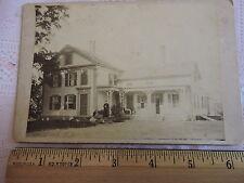 Original 1880s Brookfield Hillandle Long Meadow CONNECTICUT CT Cabinet PHOTO