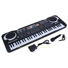 61 Keys Music Electronic Keyboard Kids Electric Piano Organ W/ Mic + Adapter NEW