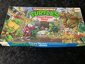 Vintage/Retro Teenage Mutant Ninja Turtles Pizza Power Game 1987 Croner