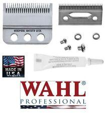 Wahl 3 HOLE Adjusto-Lock BLADE SET for SENIOR,DESIGNER,PILOT*Hair Stylist Barber