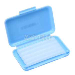 1 Pack Orthodontic Dental Ortho Wax Blue-Mint scent For Braces gum irritation