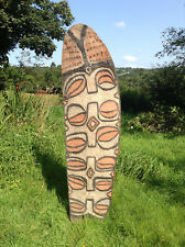 More details for asmat warsheild from the brazza river region of irian jaya