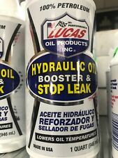 Lucas 10019 Hydraulic Oil Booster and Stop Leak 946ml use with all viscosities